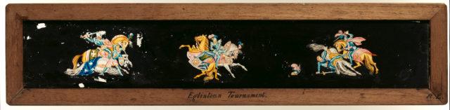 Eglinton Tournament Magic Lantern Slide