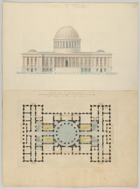 Plan by T. Cole, Esq. for the Capitol of Ohio