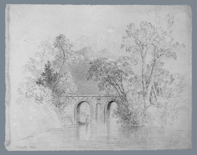 River Scene (from McGuire Scrapbook)