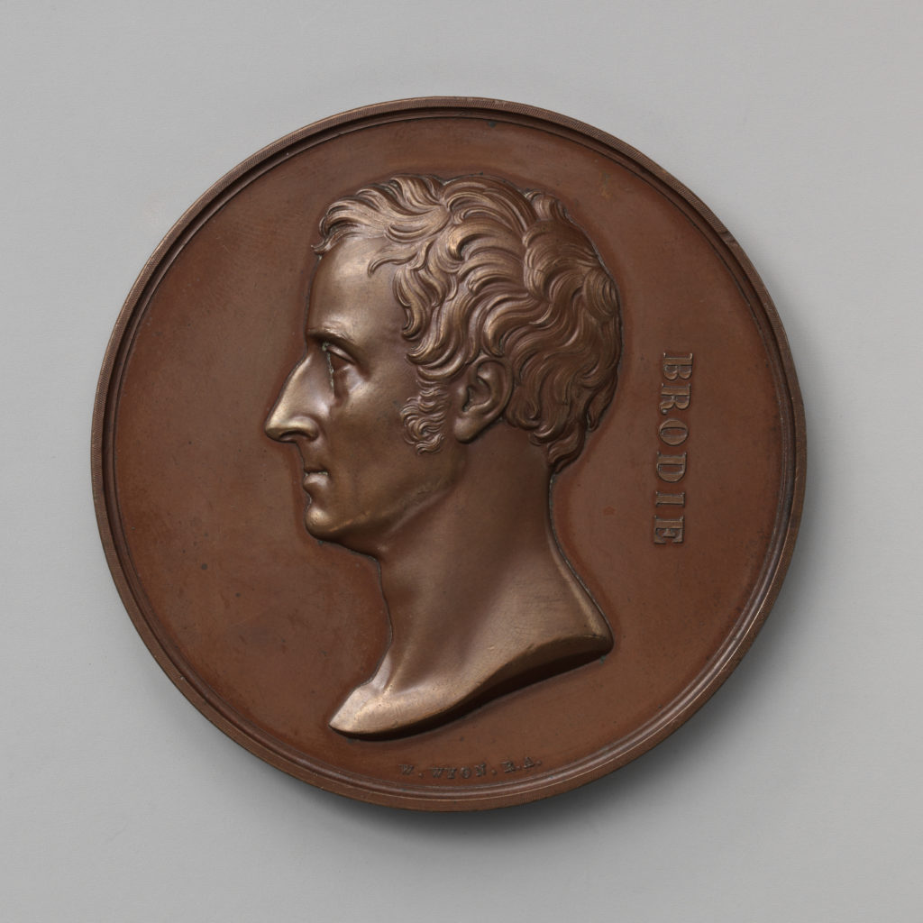 In Honor of the Surgical and Pathological Discoveries of Sir Benjamin Collins Brodie, Bart., Sergeant-Surgeon to George IV, William IV, and Victoria (1783–1862)