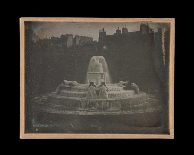 Paris devant l'atelier de Daguerre