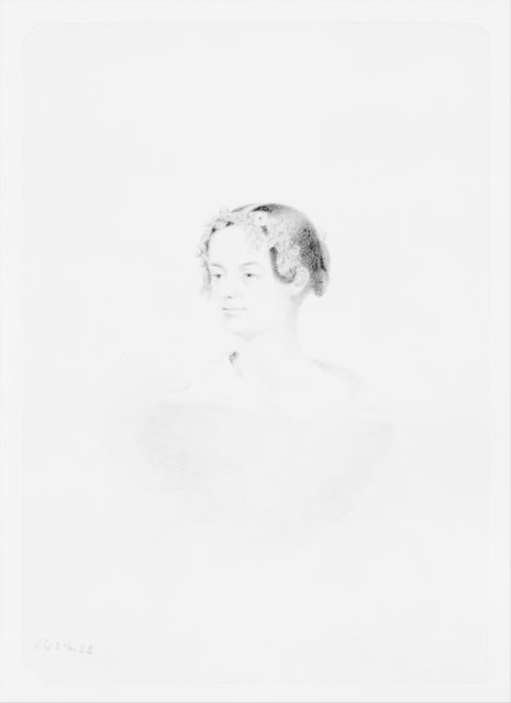 Portrait of a Woman (from McGuire Scrapbook)
