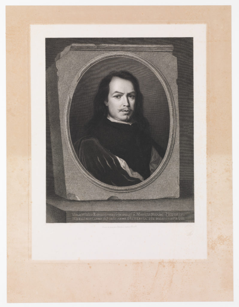 Murillo, after a self portrait by the artist