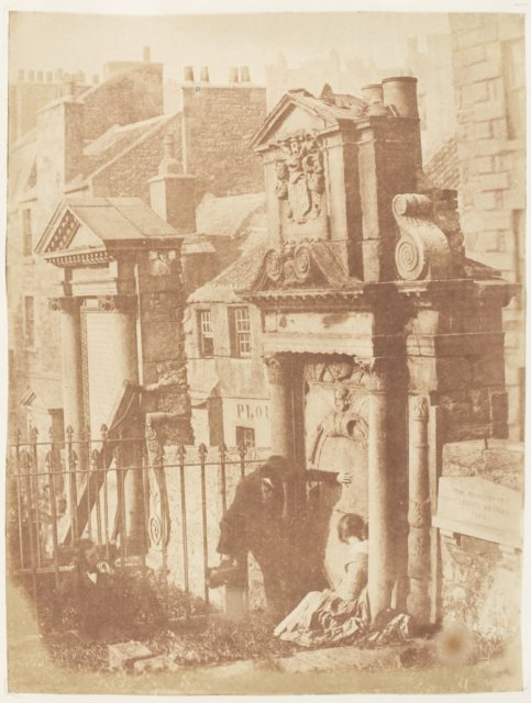 Edinburgh. Greyfriars' Churchyard
