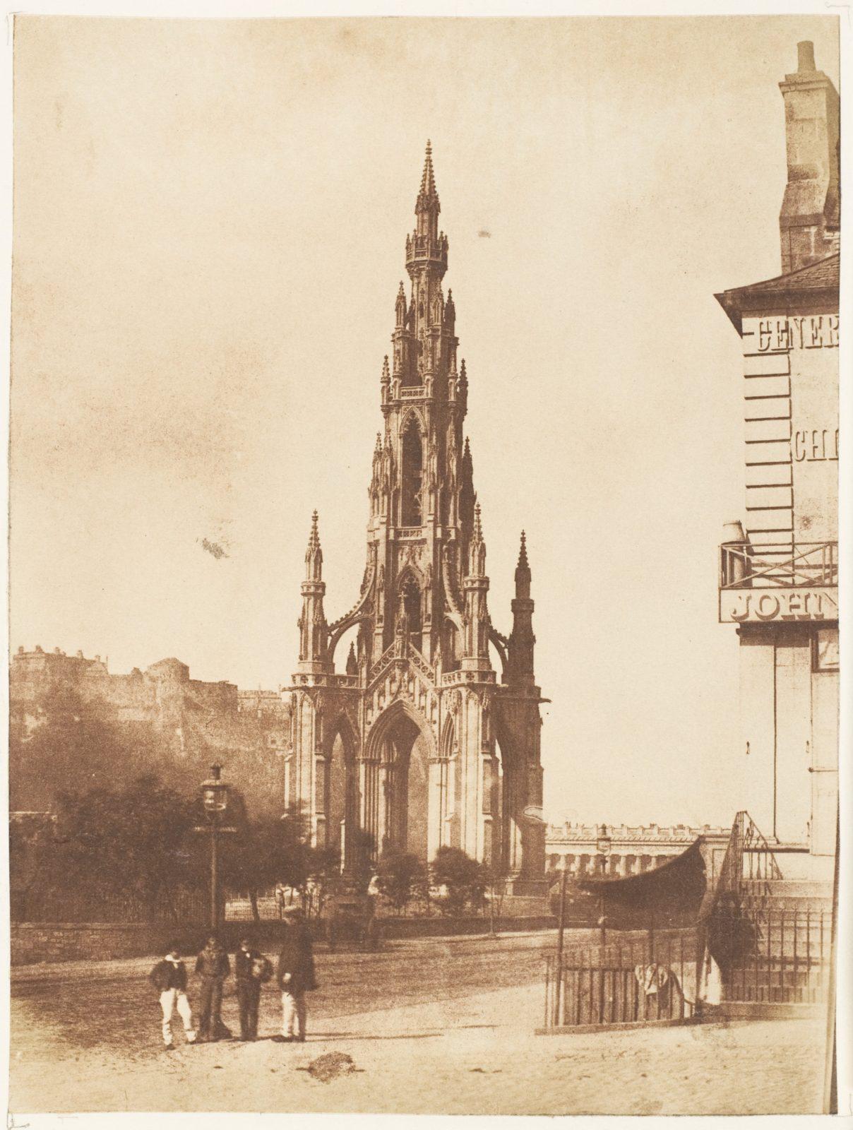 Edinburgh.  The Scott Monument