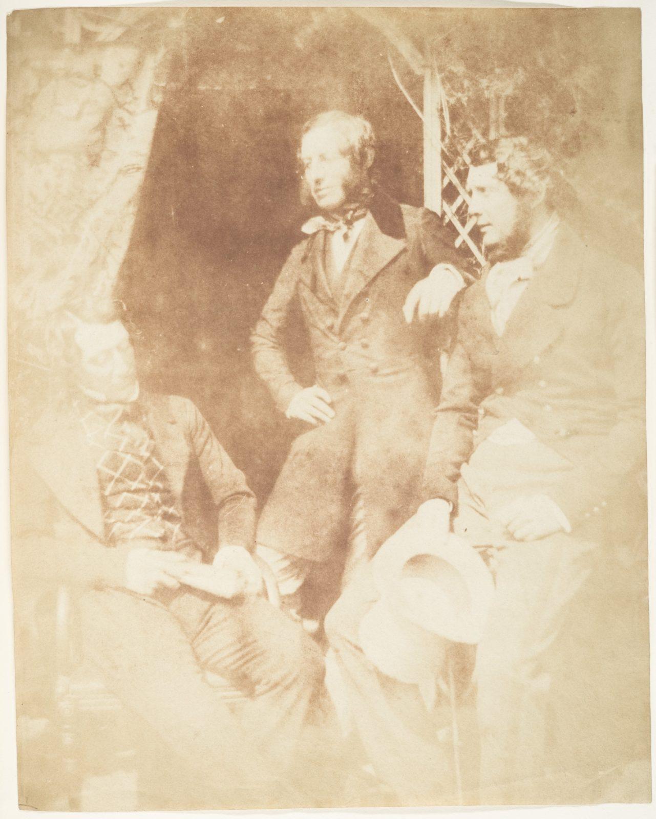 Ogilvie Fairly, Capt. Hamilton, and Gilmore