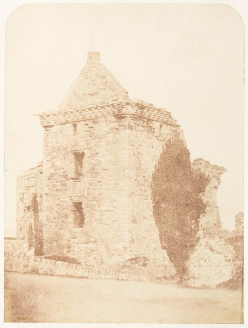 St. Andrews. The Fore Tower of the Castle