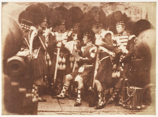 The 42nd Gordon Highlanders, Edinburgh Castle