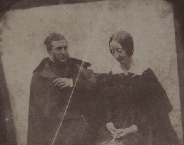 Portrait of Horatia Maria Feilding and Thomas Gaisford