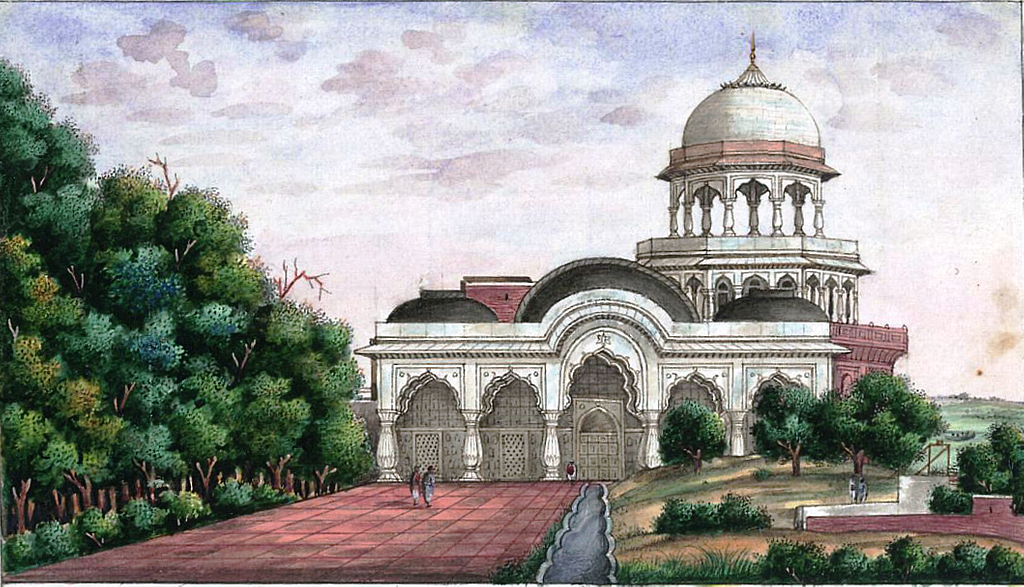 Reminiscences of Imperial Delhi Shah Burj at the north-east corner of the Red Fort