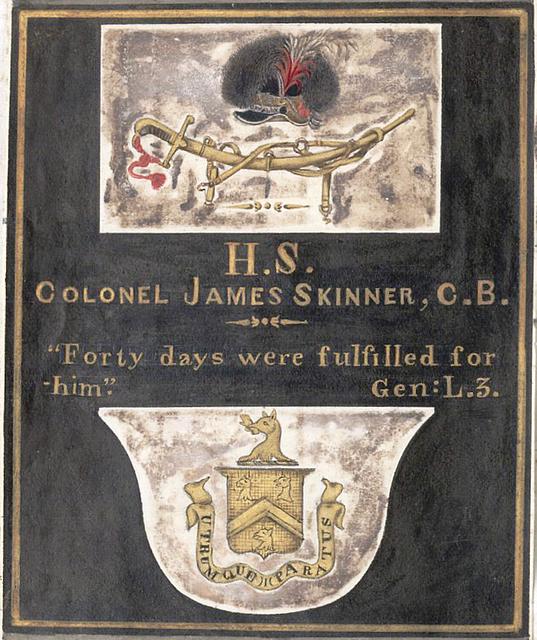 Reminiscences of Imperial Delhi Skinner's Tomb, St. Jame's Church, Delhi