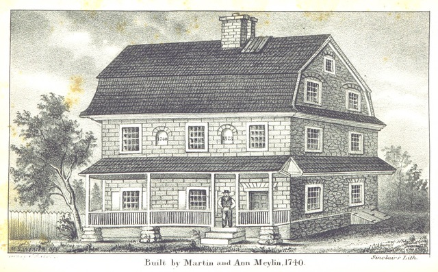 """architecture from """"History of Lancaster County. To which is prefixed, a brief sketch of the early history of Pennsylvania. Compiled from authentic sources"""""""