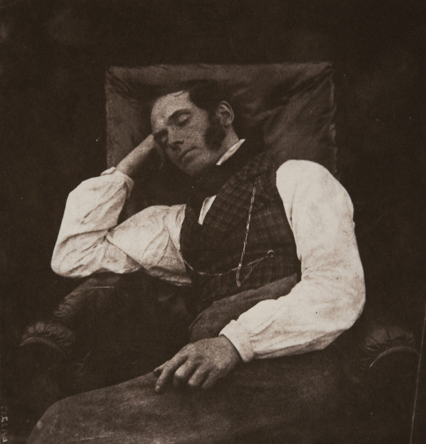 Nicolaas Henneman Asleep, Lacock or Reading, England