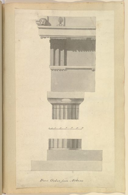 Doric Order from Athens