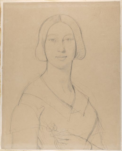 Portrait of Madame Paul Meurice, née Palmyre Granger