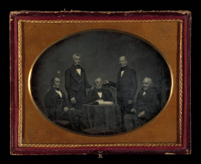 [Rev. Mr. Frederick T. Gray and Deacons of Old Bullfinch Street Church]