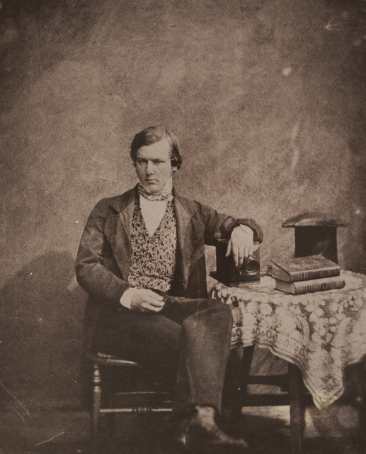 Portrait of Neville Story-Maskelyne (1823-1911), Claudet's, Regent Street, London