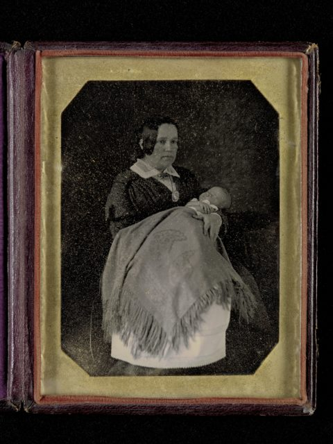 [Mrs. Thomas Ustick Walter and Her Deceased Child]