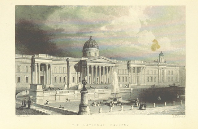 """England from """"Illustrated London, or, a series of views in the British metropolis and its vicinity, engraved by Albert Henry Payne, from original drawings. The historical, topographical and miscellaneous notices, by W. I. Bicknell"""""""