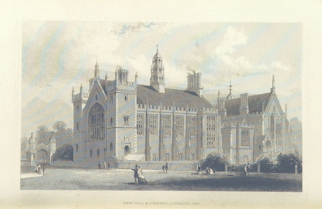 """engraving from """"Illustrated London, or, a series of views in the British metropolis and its vicinity, engraved by Albert Henry Payne, from original drawings. The historical, topographical and miscellaneous notices, by W. I. Bicknell"""""""