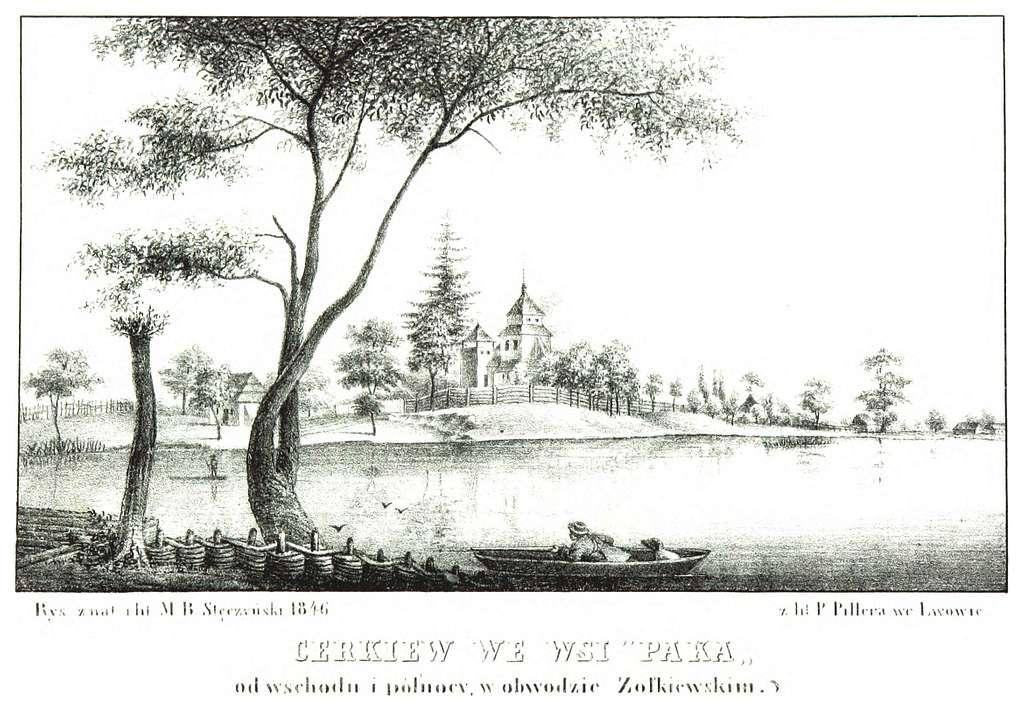 JABLONSKI(1847) p098 - Cerkiew w Opace