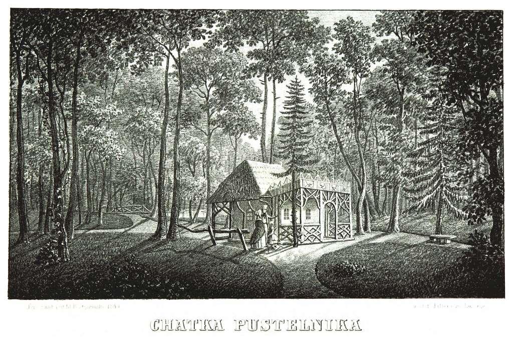 JABLONSKI(1847) p130 - CHATKA PUSTELNIKA