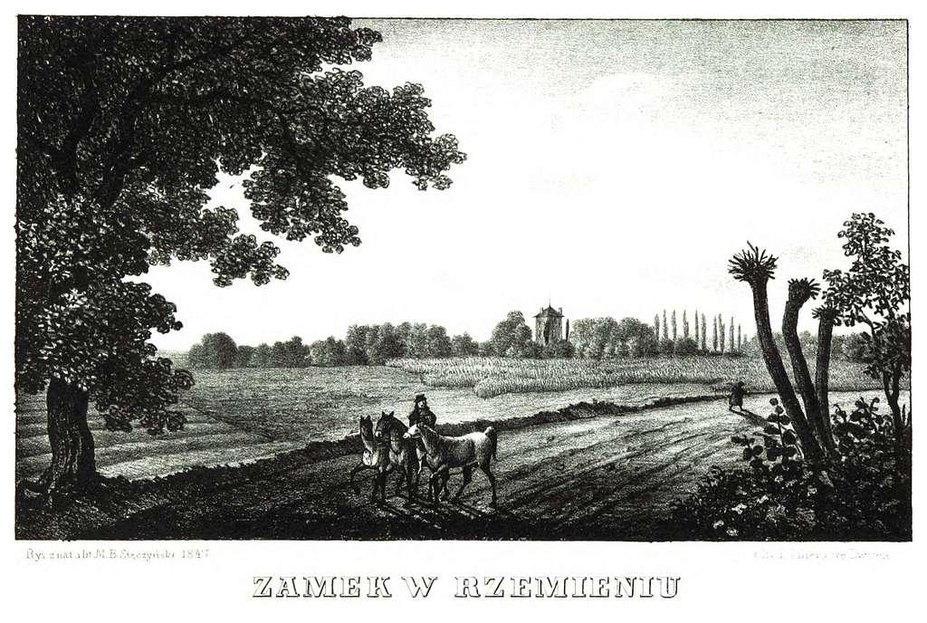JABLONSKI(1847) p138 - ZAMEK W RZEMIEŃIU