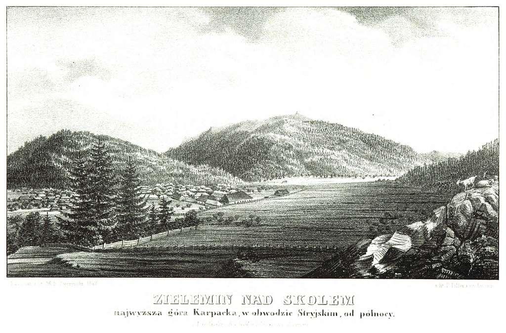 JABLONSKI(1847) p324 - ZIELEMIN NAD SKOLEM