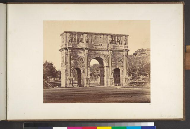 Arco di constantino picryl public domain image for Arco arredamenti san giorgio