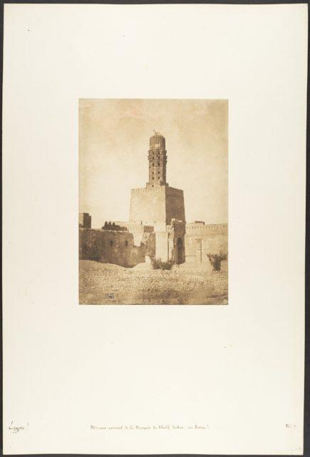 Minaret oriental de la Mosquée du Khalif Hakem, au Kaire