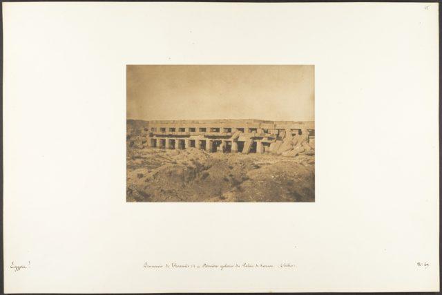 Promenoir de Thoutmès III - Dernières galeries du Palais de Karnac (Thèbes)