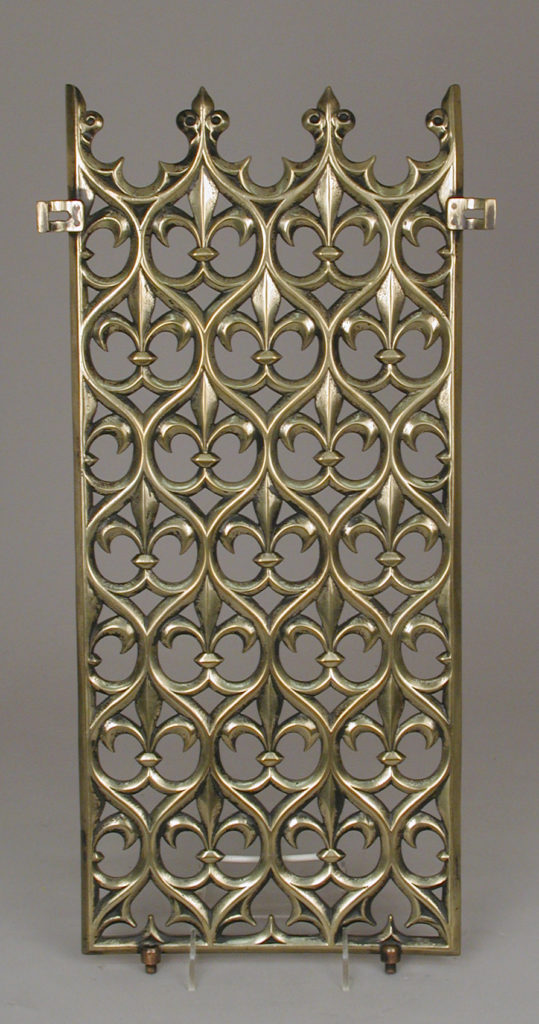 Decorative grill from the Palace of Westminster