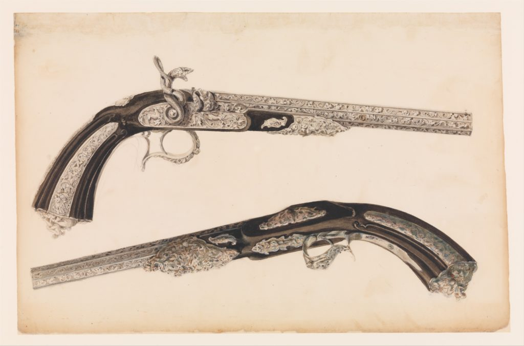 Designs for the Ornament of Swords and Firearms