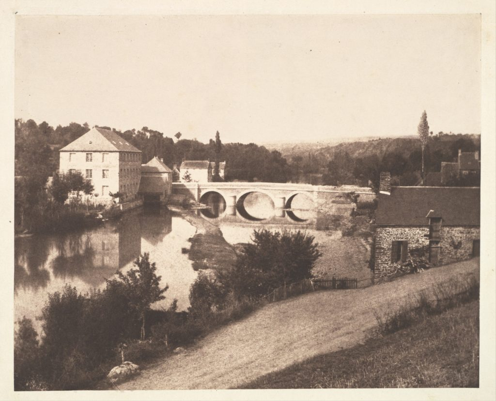 [Pont d'Ouilly on the Orne River, Normandy]