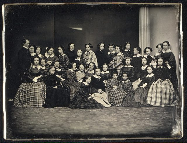 [Students from the Emerson School for Girls]