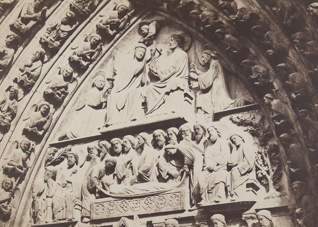 Ensemble du Tympan, Facade principale, porte cote nord