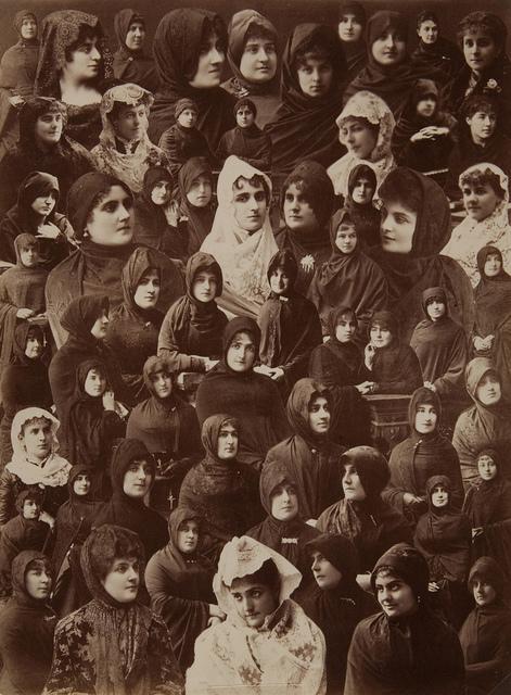 Photomontage of Women's Faces
