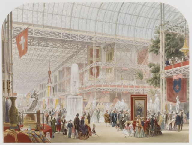 General View of the Interior (from Recollections of the Great Exhibition)
