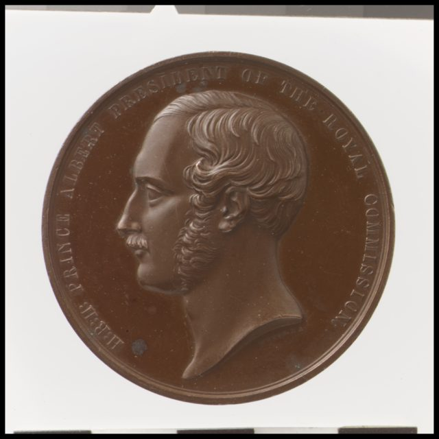 Prince Albert, President of the Royal Commission for the Great Exhibition