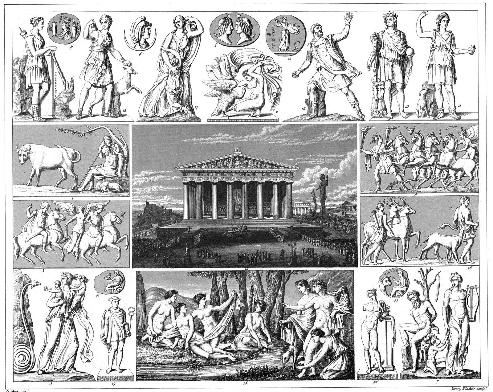 Greece. Mythology and Religious Rites