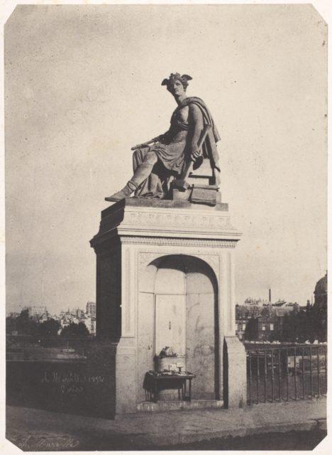 [Allegorical Sculpture of Industry, Pont du Carrousel]