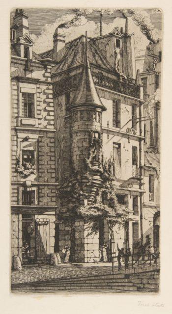 House with a Turret, rue de la Tixéranderie, Paris