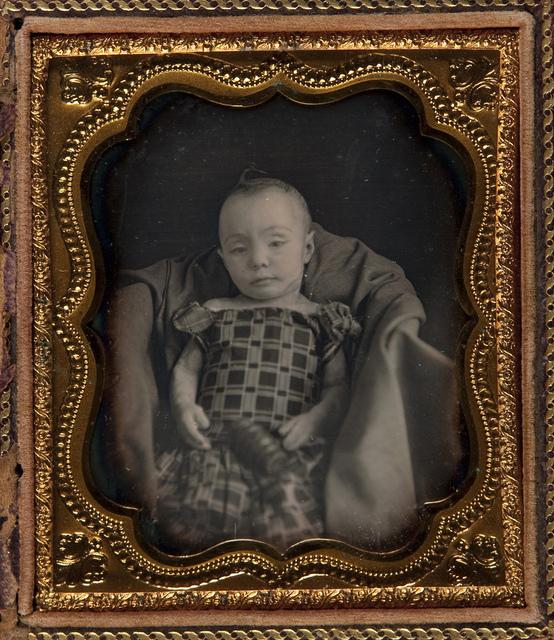 Post-mortem Portrait of Infant Girl