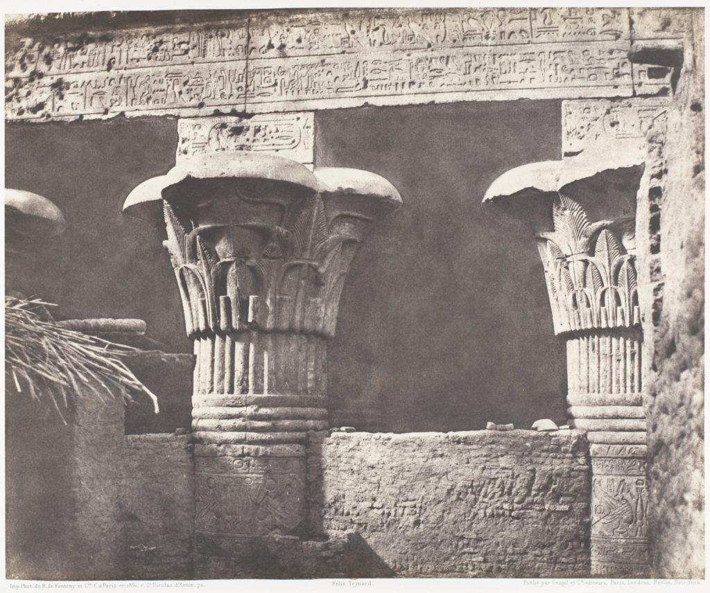 Esneh (Latopolis), Construction Ensablée - Architrave, Futs, et Chapiteaux