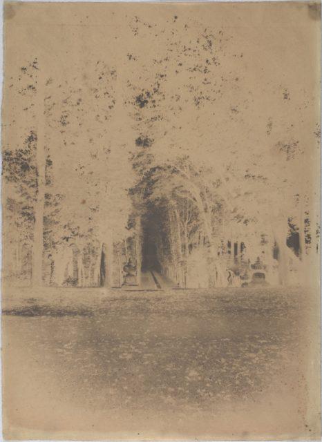 [Gardens of the Château de Saint-Cloud]