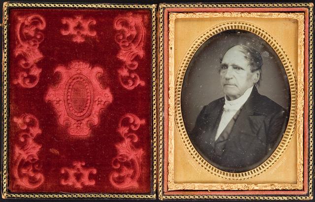 Portrait of a Man (possibly Daniel Webster)
