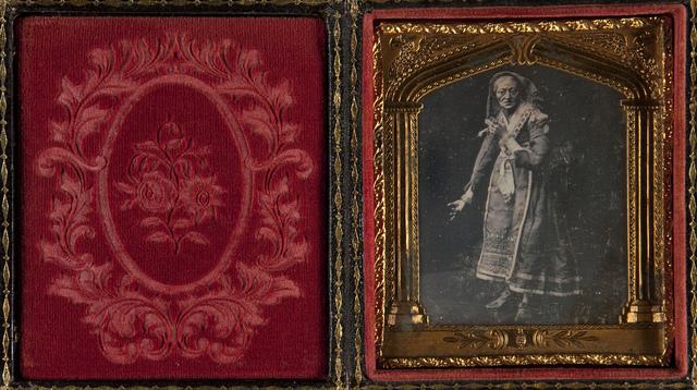 Portrait of Elderly Woman in Costume