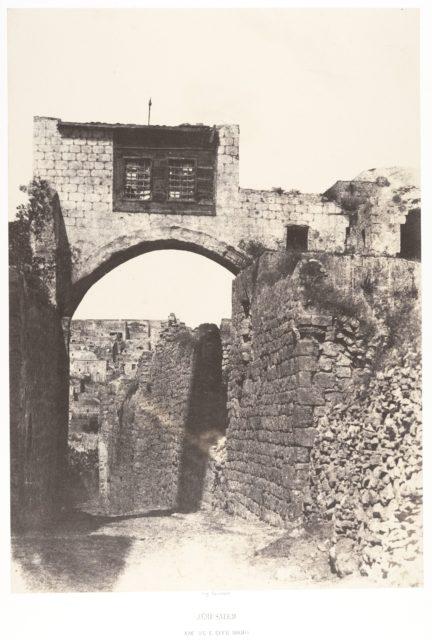 Jérusalem, Arc de l'Ecce-Homo