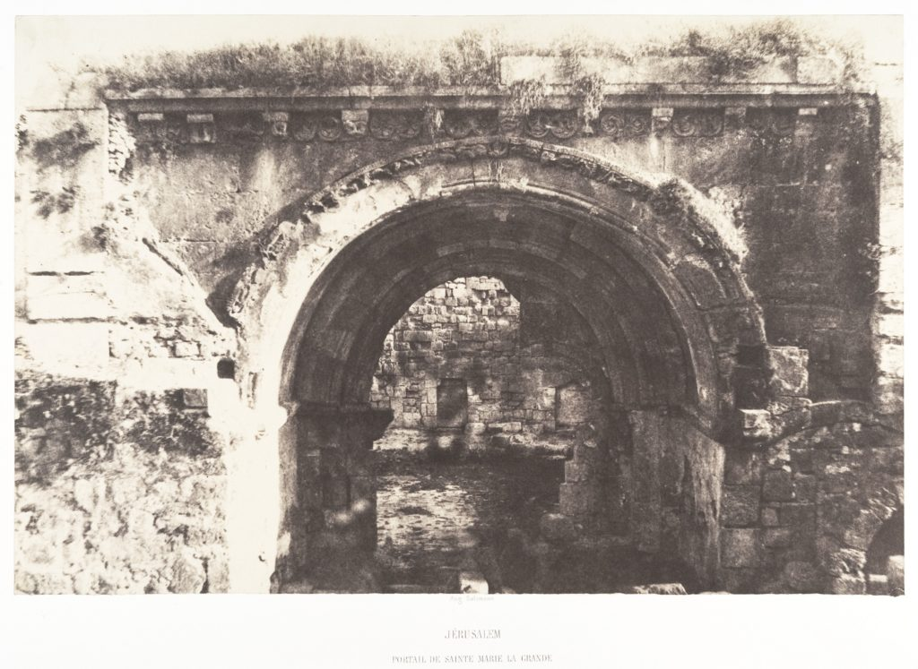 Jérusalem, Sainte-Marie-la-Grande, Portail