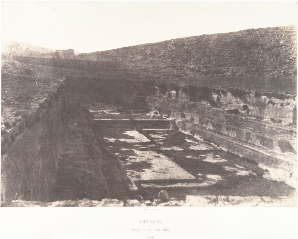 Jérusalem, Tombeau de Salomon, Détails